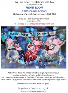 Exhibition at  Totterdown Art Trail