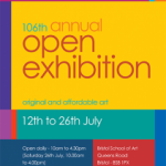 Clifton Arts Club 106th Annual Open Exhibition